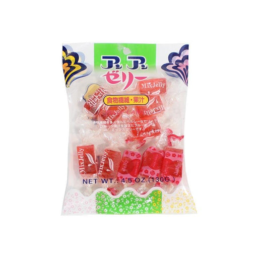 Japanese Jelly Candy Strawberry Flavor, Soft, 4.5 oz. (130g)