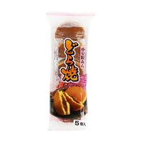 Dorayaki Japanese Pancakes with Sweet Red Bean by Hiyoshi Pastry, 9.8 oz. (280g)
