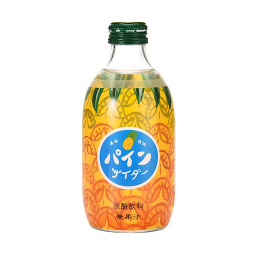 Tomomasu Japanese Soda Pineapple Cider, 10 oz. (300ml)