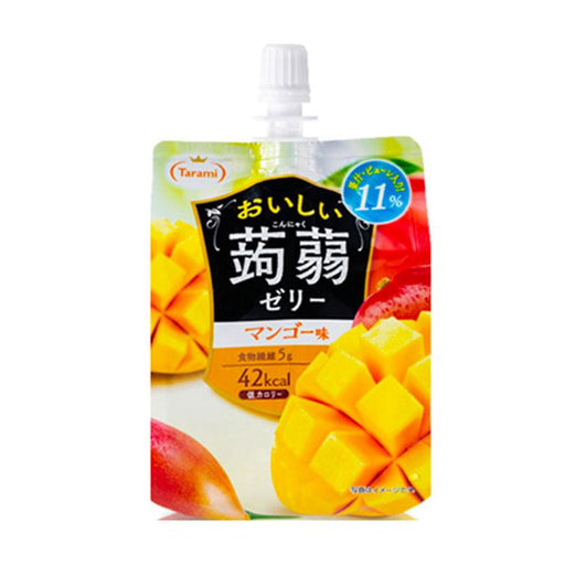 Konjac Jelly Mango Juice from Japan by Tarami 5.2 oz (150 g)