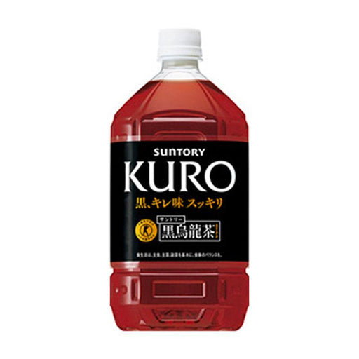 Suntory Dark Oolong Tea Kuro, 33.5 fl oz (1 L)