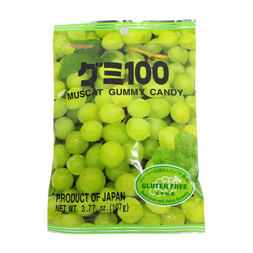 Kasugai Gummy Candy, Muscat Green Grape 3.77 oz (107 g)