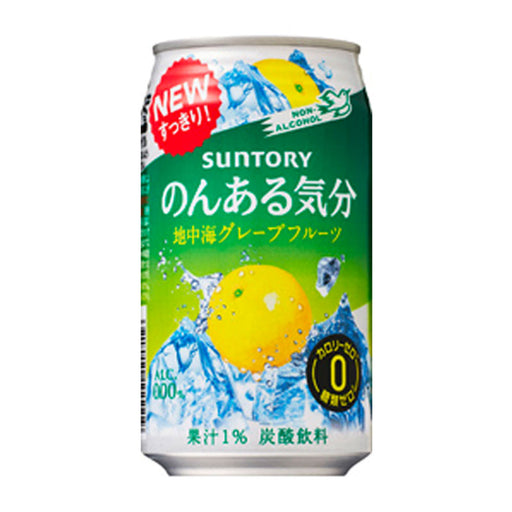 Suntory Grapefruit Chuhi Soft Drink, 11 fl oz (350 mL)