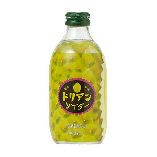 Tomomasu Japanese Soda Durian Cider, 10 oz. (300ml)