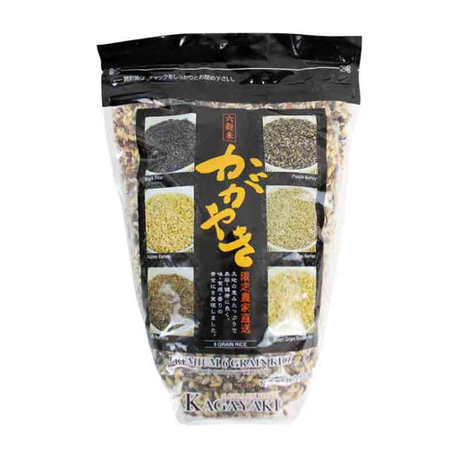 Kagayaki Six Grain Rice, Japan's Most Popular Rice Varieties, 2.2 lbs (1kg)