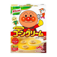 Japanese Knorr Anpanman Corn Cream Soup, 2 oz (59g)