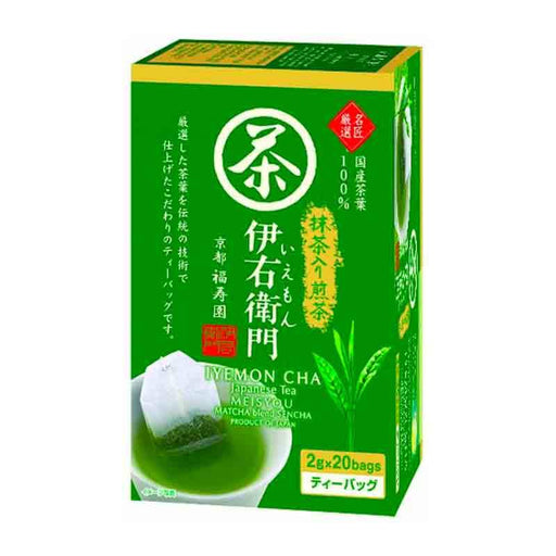 Japanese Matcha Green Tea Sencha Blend by Iyemon, 1.4 oz (40g)