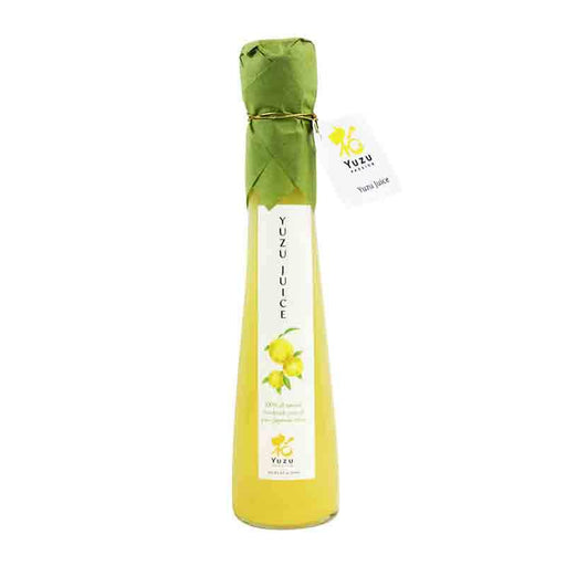 Yuzu Juice Handmade from 100% Japanese Yuzu Fruit, Not from Concentrate 4 fl oz (120mL)