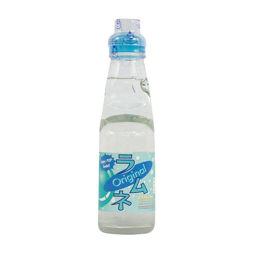 Ramune Soda Original Flavor Japanese Drink with Marble by Fuji Soda, 6.8 fl oz (200mL)