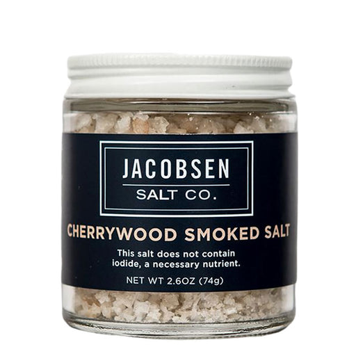 Jacobsen Cherrywood Smoked Sea Salt, 2.6 oz