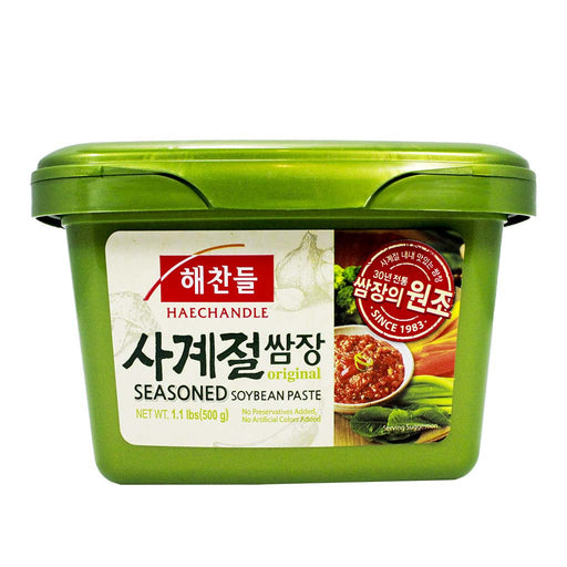 Haechandle - Seasoned Soybean Paste, Ssamjang, 1.1 lbs
