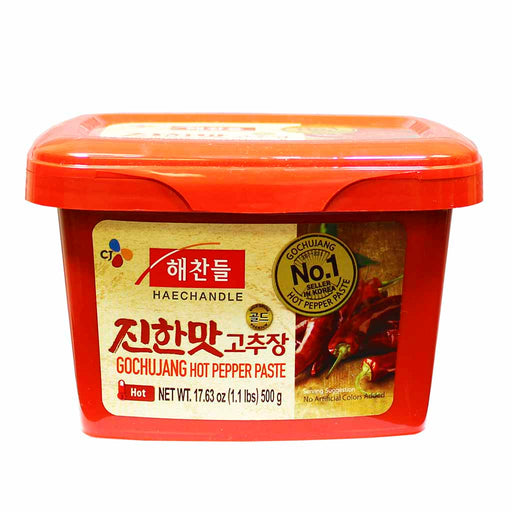 Korean Gochujang, Korea's #1 Hot Pepper Paste, CJ Haechandle, 1.1 lbs