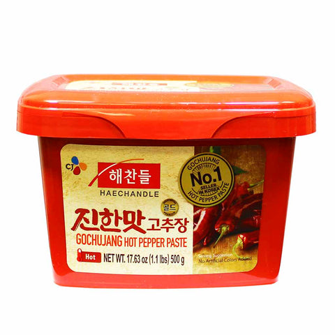 Authentic Korean Gochujang Hot Pepper Paste by Haechandle 1.1 lbs