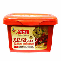 CJ Haechandle Gochujang Hot Pepper Paste, 1.1 lbs