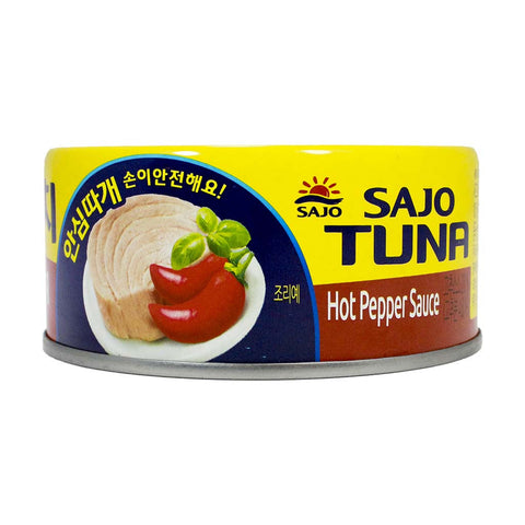 Tuna with Hot Pepper Sauce by Sajo 5.3 oz