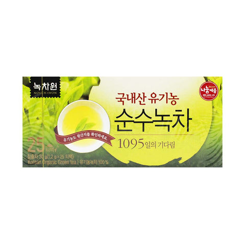 Organic Green Tea by Nokchawon 25 Servings
