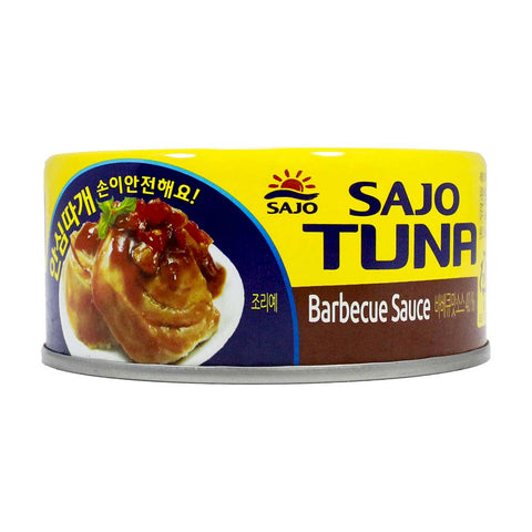 Tuna with Barbecue Sauce by Sajo 5.3 oz