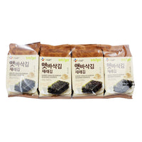 Roasted Seasoned Seaweed by Bibigo 8 Packs