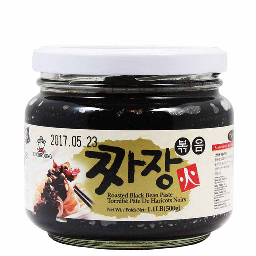 ChoripDong Roasted Black Bean Paste Chunjang 1.1 lb (500g)