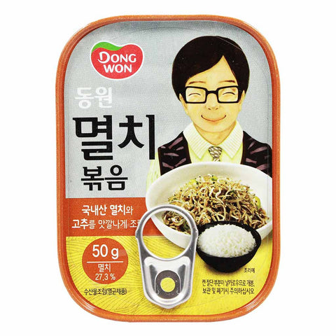 Stir Fried Anchovy Myeolchi Bokkeum by Dongwon 1.76 oz
