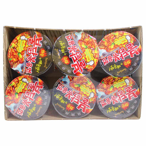 Samyang Spicy Chicken Ramen 6 - 2.4 oz. cups (70g)