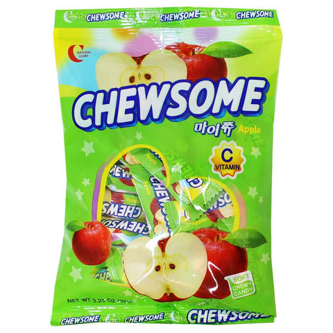 Crown Chewsome Apple Candies 3.2 oz. (92g)