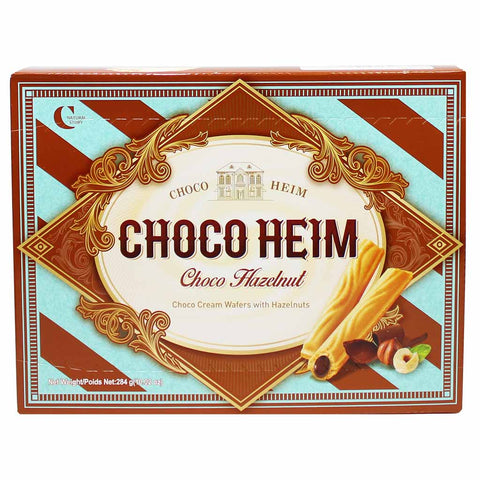 Crown Chocolate Hazelnut Cookies 10 oz. (284g)