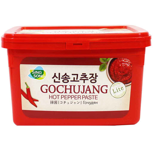Sing Song - Gochujang Hot Pepper Paste, Made in Korea, 6.6 lbs