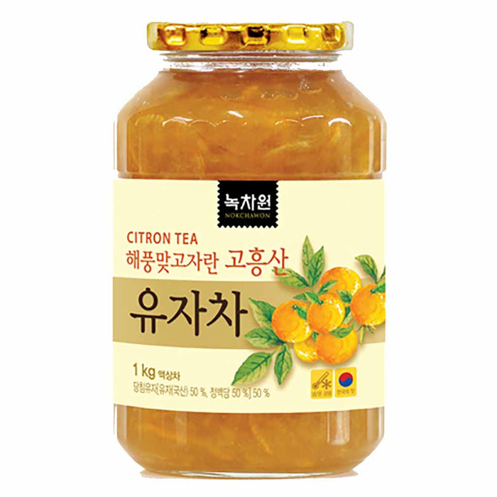 Korean Honey Citron Tea by Nokchawon 2.2 lbs. (1kg)