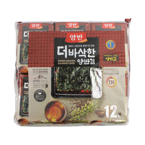 Dongwon Seasoned Seaweed Sheets 12 Packs