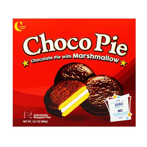 Crown - Choco Pie with Marshmallow, 12.7 oz.