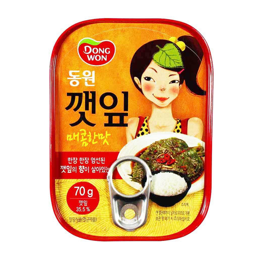 Dongwon - Spicy Sesame Leaves, 2.4 oz.