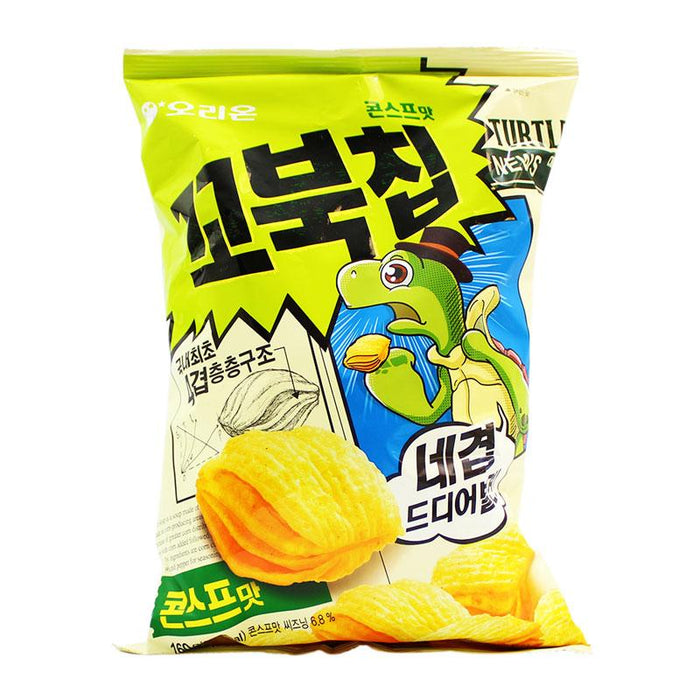 Orion – Turtle Chips, Korean, 5.6oz (160g)