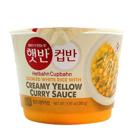 CJ - Yellow Curry HetBahn CupBahn, 9.87oz (280g)