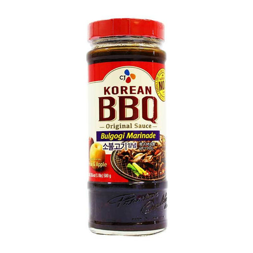 CJ Korean BBQ Bulgogi Marinade, 17.6 oz (500 g)