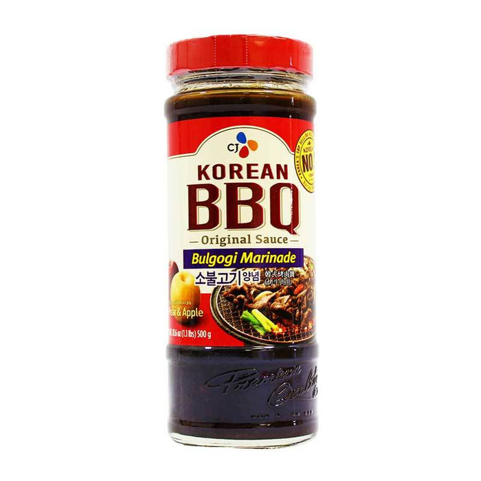 CJ – Korean BBQ Bulgogi Marinade, 17.6 oz (500 g)