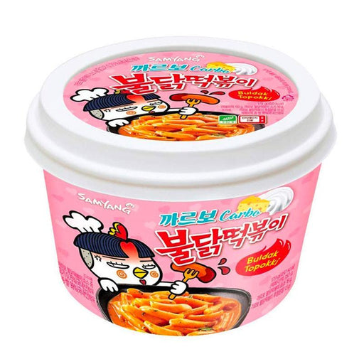 Samyang Carbo Rice Cake Topokki, 6.31 oz. (179g)