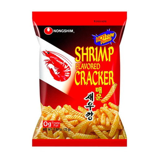 Nongshim Shrimp Chips Spicy, 2.6 oz. (75g)
