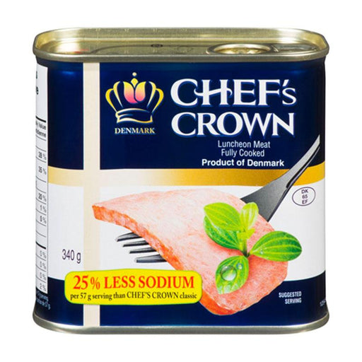 Chef's Crown Korean Reduced Sodium Spam Luncheon Meat, 12 oz. (340g)