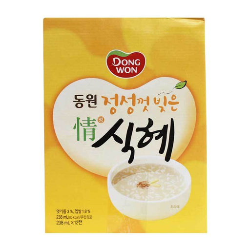 Korean Sweet Rice Punch Sikhye in Gift Box, 12 x 238 mL