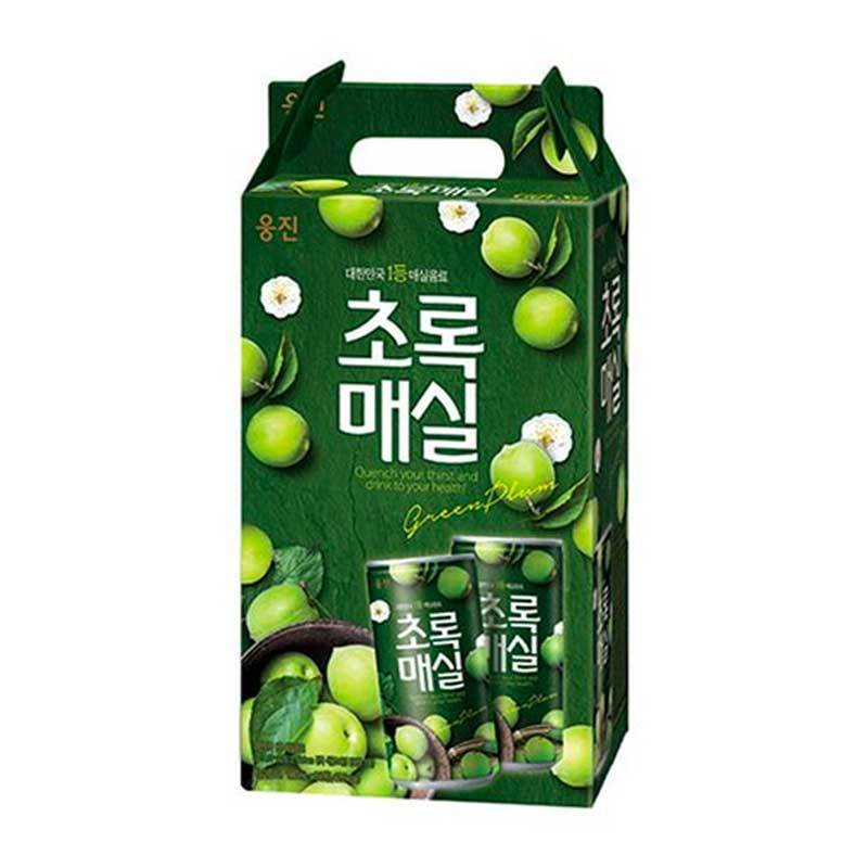 Korean Green Plum Juice Gift Box 15 X 180ml Yummy Bazaar
