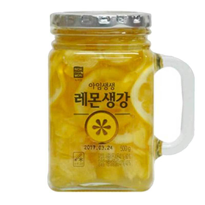 Korean Lemon Honey Ginger Tea by I am SaengSaeng, 1.1 lbs (500g)