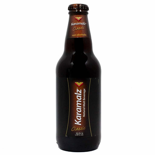 Karamalz Non-Alcoholic Malt Beverage, 11.2 fl oz (330 ml)