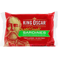 King Oscar Sardines in Extra Virgin Olive Oil 3.7 oz. (106 g)