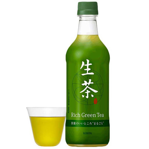 Kirin Rich Cold Brew Green Tea, 16.9 fl oz (500 mL)
