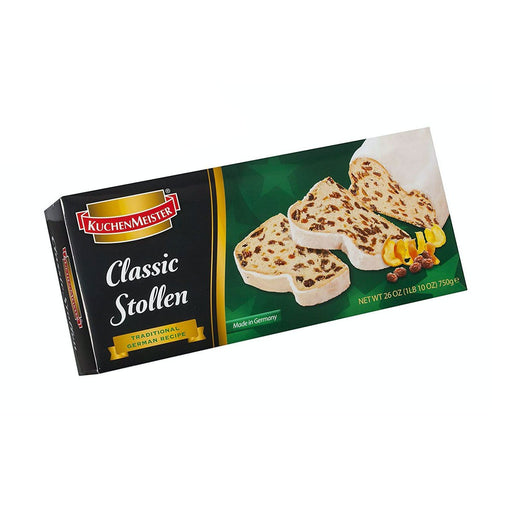 Kuchenmeister Classic Christstollen, Large, 1.7 lb (750 g)