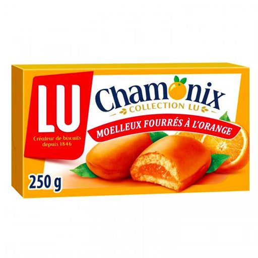 LU Chamonix Orange Cookies, 8.8 oz