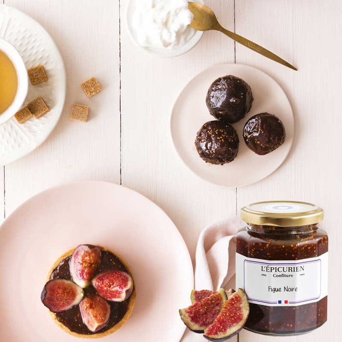 L'Epicurien Provence Black Fig Jam 11.6 oz