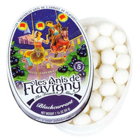 Les Anis de Flavigny Blackcurrant Flavored Anise Candy 1.7 oz. (50g)