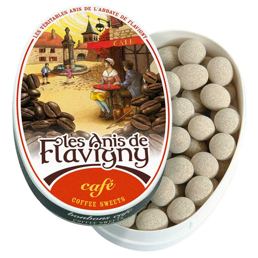 Les Anis de Flavigny Coffee Flavored Anise Candy 1.7 oz. (50g)